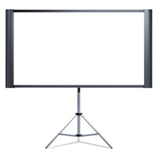 "Epson® Duet Ultra Portable Projection Screen, 80"" Widescreen"