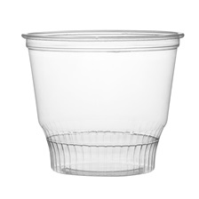 Super Sips 8 oz. PET Sundae/Dessert Cup - 310895-CL