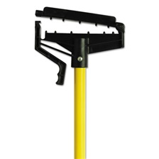 "O-Cedar® Commercial Quick-Change Mop Handle, 60"", Fiberglass, Yellow, 6/Carton"