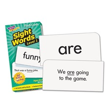TREND® Skill Drill Flash Cards, 3 x 6, Sight Words Set 1