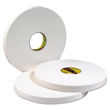 3M™ 4016 Double Coated Urethane Foam Tape, 1in x 36yd