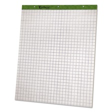 Ampad® Flip Charts, 1 Quadrille, 27 x 34, White, 50 Sheets, 2/Pack