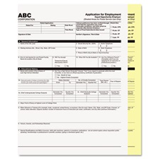 PM Company® Digital Carbonless Paper, 8-1/2 x 11, Two-Part, White/Canary, 1250 Sets/Carton