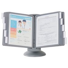 Durable® SHERPA Motion Desk Reference System, 10 Panels