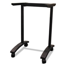 Alera® Alera Valencia Series Training Table T-Leg Base, 24-1/2w x 19-3/4d, Black