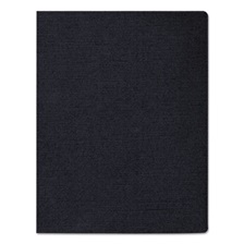 Fellowes® Linen Texture Binding System Covers, 11-1/4 x 8-3/4, Navy, 50/Pack