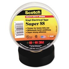 "3M™ Scotch 88 Super Vinyl Electrical Tape, 1 1/2"" x 44ft"