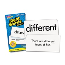 TREND® Skill Drill Flash Cards, 3 x 6, Sight Words Set 3