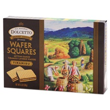 Dolcetto® Wafers, Tiramisu, 6.3 oz Box